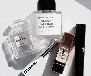 chanel, makeup, and glossier image