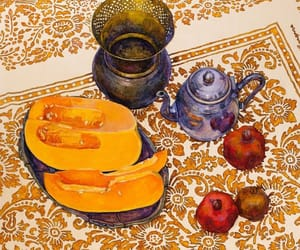 art, art gallery, and fruit image