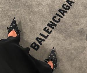 Balenciaga, black, and brand image