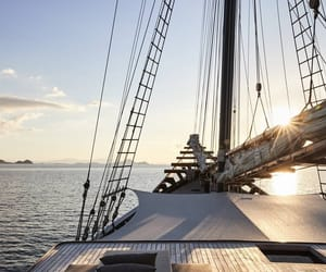 sea, travel, and boat image