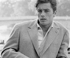 Alain Delon, vintage, and boy image
