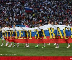 football, russia, and fifa 2018 image