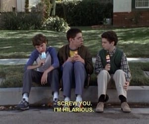 funny, freaks and geeks, and hilarious image