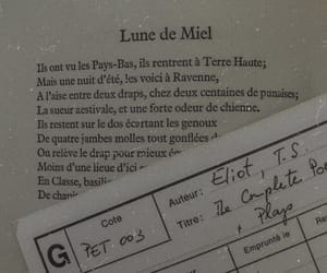 book, french, and poem image