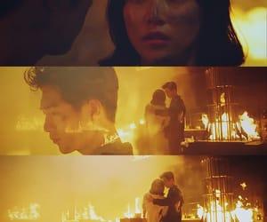 fire, Korean Drama, and kdrama image