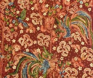 batik, bird, and ethnic image