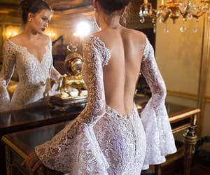 fashion, wedding dress, and couture gowns image