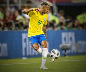 neymar, brazil, and football image