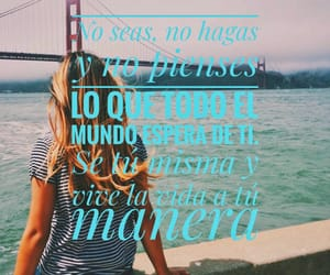 frases, vive, and personas image