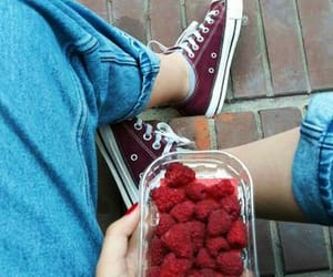aesthetic, converse, and fruit image