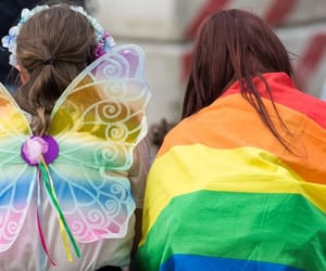 gay, queer, and love is love image