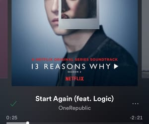 one republic, start again, and spotify image