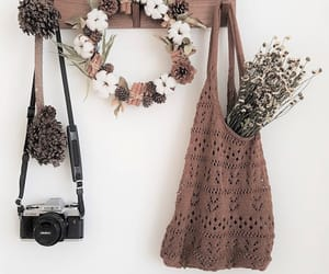 camera, flowers, and sage image