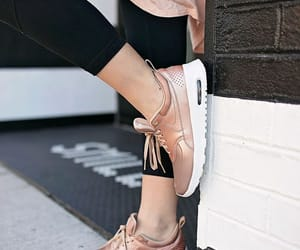 fashion, girl, and sneakers image