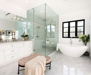 home, interior, and bathroom image