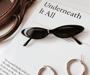 book, classy, and earrings image
