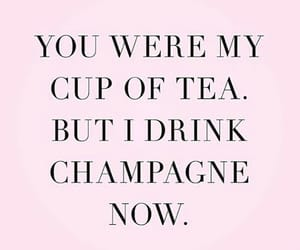 pink, champagne, and frases image