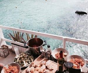 food, sea, and indie image