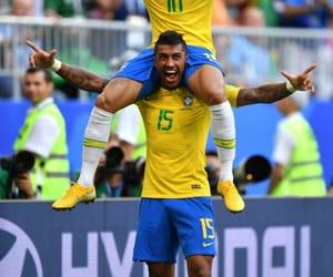 brazil, brazilian, and football image