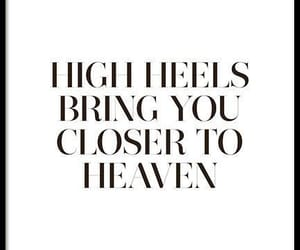 fashion, heaven, and quote image