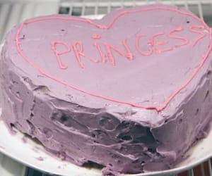 cake, princess, and pink image