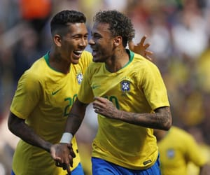 brazil and firmino image