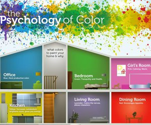 home, colors, and paint image