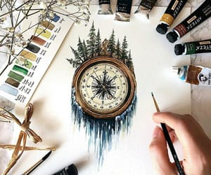 art and compass image