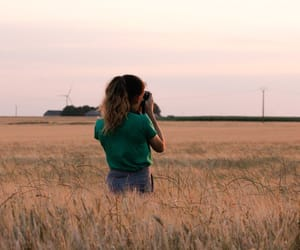 campagne, field, and french image
