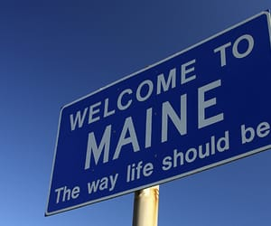Maine, places, and usa image