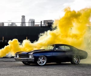 black, car, and yellow image