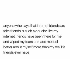 distance, friendship, and internet image