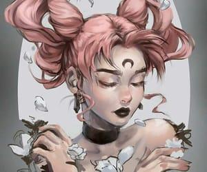 art, anime, and sailor moon image