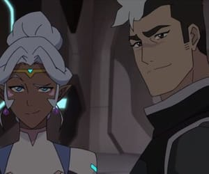 shiro, Voltron, and allura image