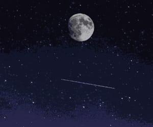 header, moon, and night image