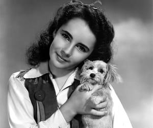 Elizabeth Taylor and vintage image