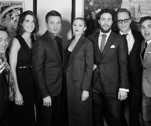 Avengers, jeremy renner, and aaron taylor-johnson image