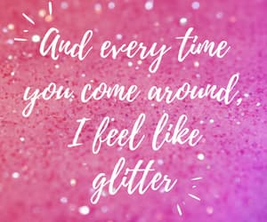 glitter, Lyrics, and pink image