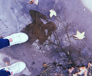 cool, puddle, and sky image