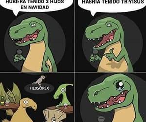 meme, dinosaur, and joke image