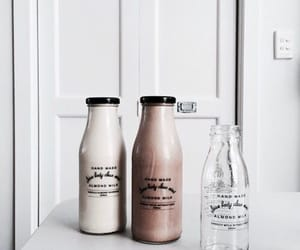 drink, food, and milk image