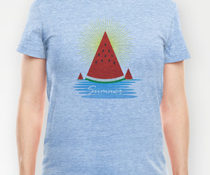 graphic, summer, and tee image