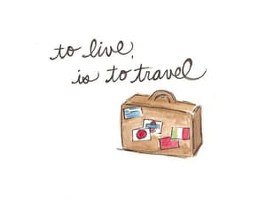 travel, live, and life image