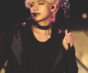 army, blonde, and v image
