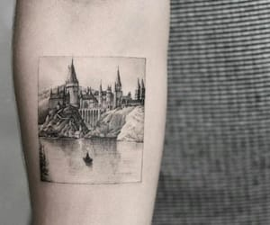 tattoo, castle, and harry potter image