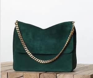 bag, fashion, and green image