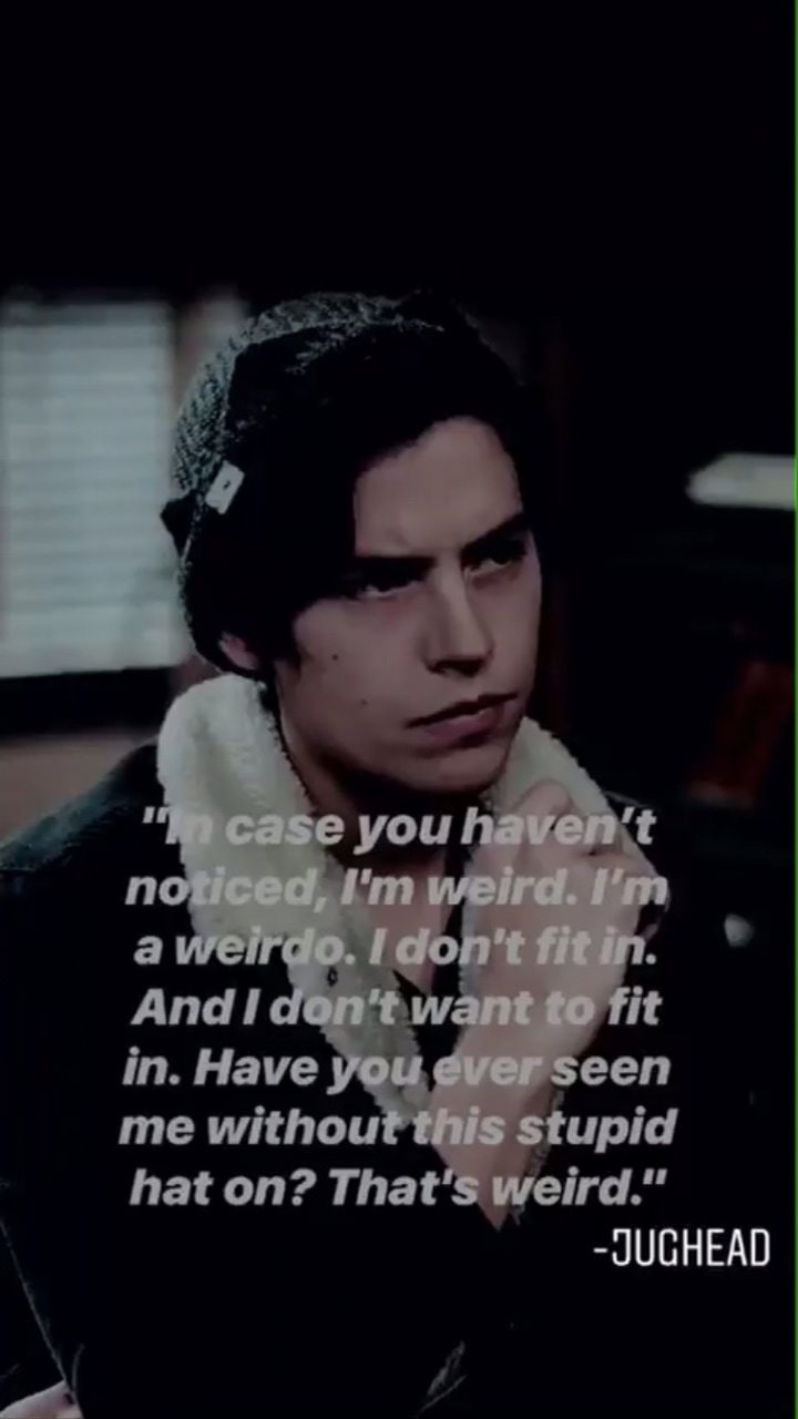 Jughead Cole Sprouse Discovered By Rainy On We Heart It