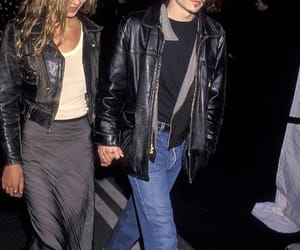 90s, johnny depp, and kate moss image