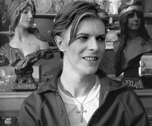 black and white, bowie, and classic rock image