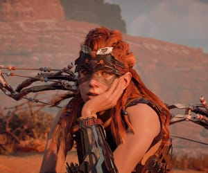 game, warrior, and aloy image